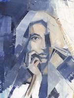 Framed Cubist Glamour I