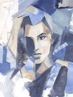 Framed Cubist Glamour II