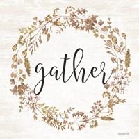 Framed Gather Wreath