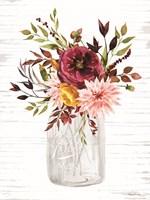 Framed Autumn Floral II