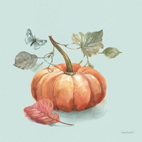 Framed Autumn in Nature 04 on Aqua