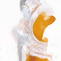 Framed Amber Wash I