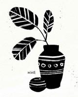 Framed Botanical Sketches VIII