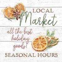 Framed Seasonal Market VII