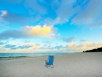 Framed Chair On Beach