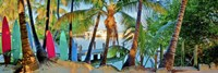 Framed Island Style