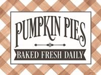 Framed Pumpkin Pies