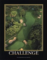 Framed Motivational - Challenge