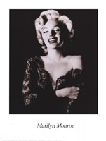 Framed Marilyn Monroe - dark portrait