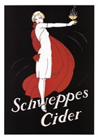 Framed Schweppes Cider