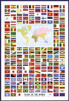 Framed Flags of the World