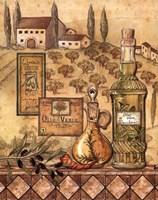 Framed Flavors of Tuscany I
