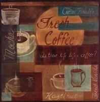 Framed Fresh Coffee II