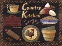 Framed Country Kitchen