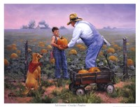 Framed Grandpas Pumpkins