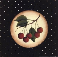 Framed 5 Cherries