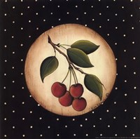 Framed 4 Cherries