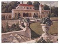 Framed Villa de Espana I