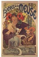 Framed Bieres de la Meuse