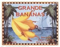 Framed Grande Bananas