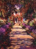 Framed Il Viale del Giardino