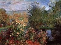 Framed Garten von Montgeron