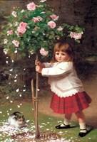 Framed Young Gardener