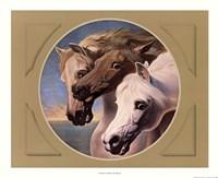 Framed Pharoah's Horses