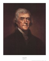 Framed Thomas Jefferson