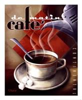 Framed Cafe de Matin