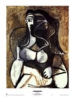 Framed Woman in an Armchair