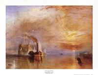 Framed Fighting Temeraire