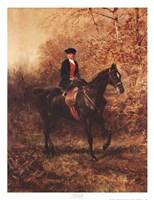 Framed Girl Riding Side-Saddle