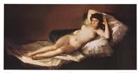 Framed Nude Maja