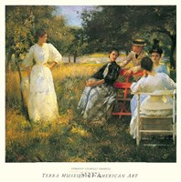 Framed In The Orchard, 1891