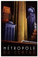 Framed Metropole du Centre