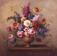 Framed Heirloom Bouquet II