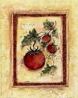 Framed Tuscan Garden I