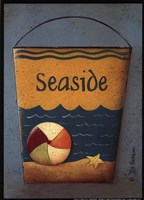 Framed Seaside Bucket
