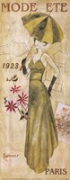 Framed La Mode 1923