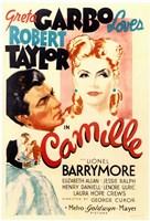 Framed Camille Greta Garbo Loves Robert Taylor