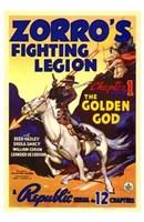 Framed Zorro's Fighting Legion