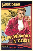 Framed Rebel Without a Cause James Dean