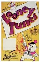 Framed Looney Tunes Porky Pig