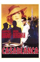 Framed Casablanca Roulette Table