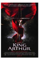 Framed King Arthur Sword