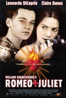 Framed William Shakespeare's Romeo Juliet - movie poster