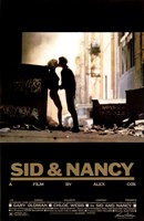 Framed Sid and Nancy