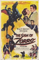 Framed Sign of Zorro