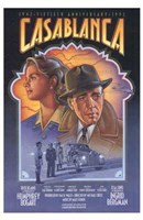Framed Casablanca Art Deco